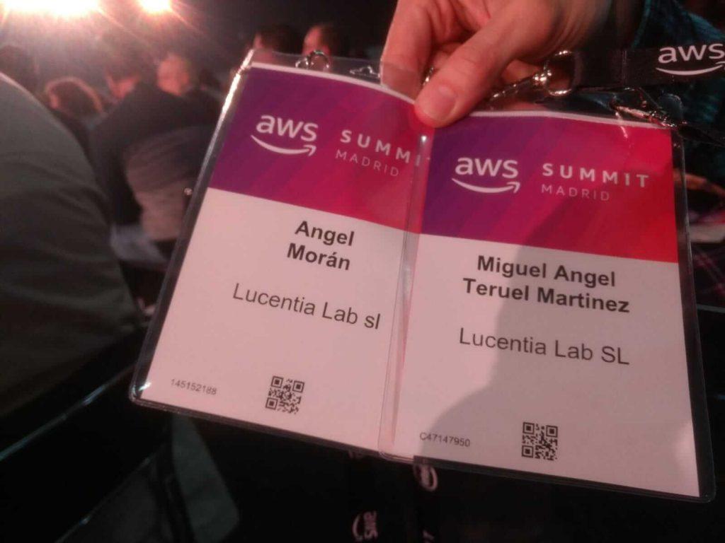Lucienta Lab en AWS