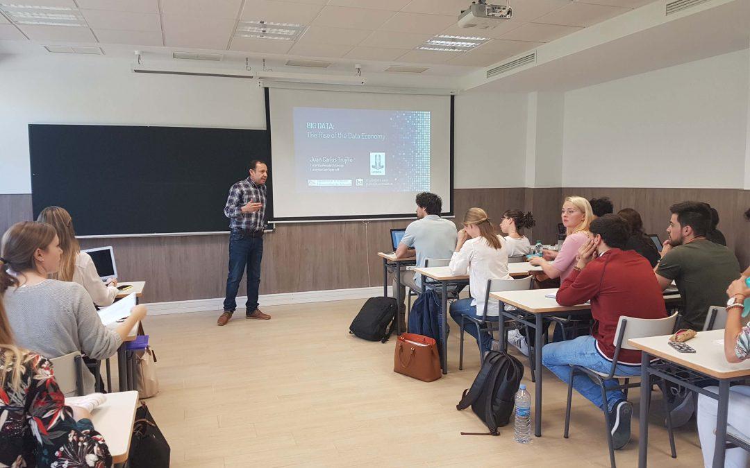 Lucentia participa en el Master de Propiedad Intelectual e Innovación Digital de la Universidad de Alicante