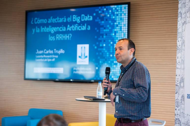 Cómo afectará el Big Data y la Inteligencia artificial a los RRHH -Juan Carlos Trujillo-
