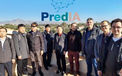 Visita de la delegación coreana a las instalaciones de LUCENTIA LAB