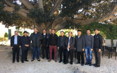 Comienza la cuarta reunión del proyecto DQIoT en España